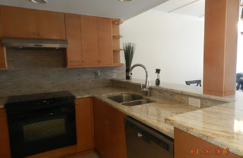 Fully Equipped Kitchen with new stainless steel appliances and upgraded Bamboo Cabinets