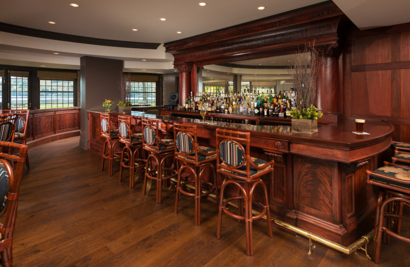 Bar at The Otesaga Resort Hotel.