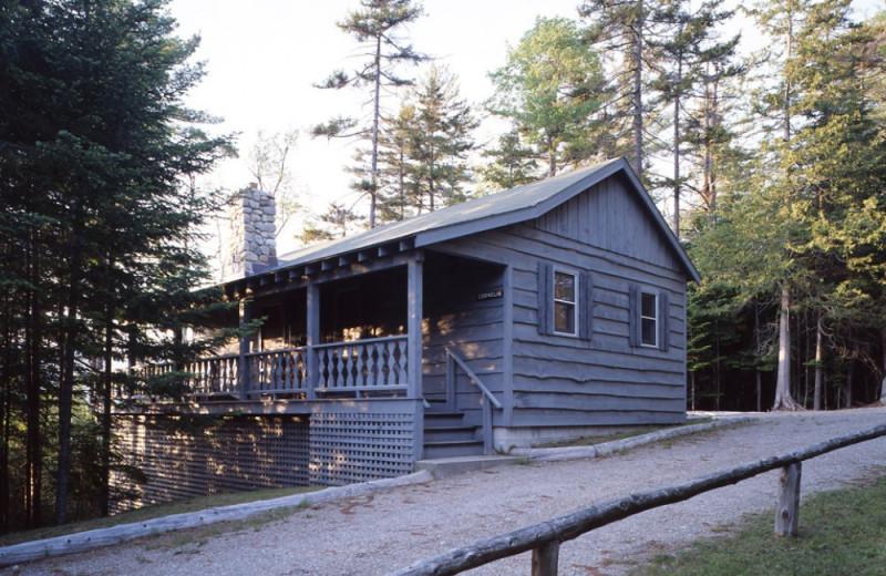 Cornelia Cottage exterior at Elk Lake Lodge.