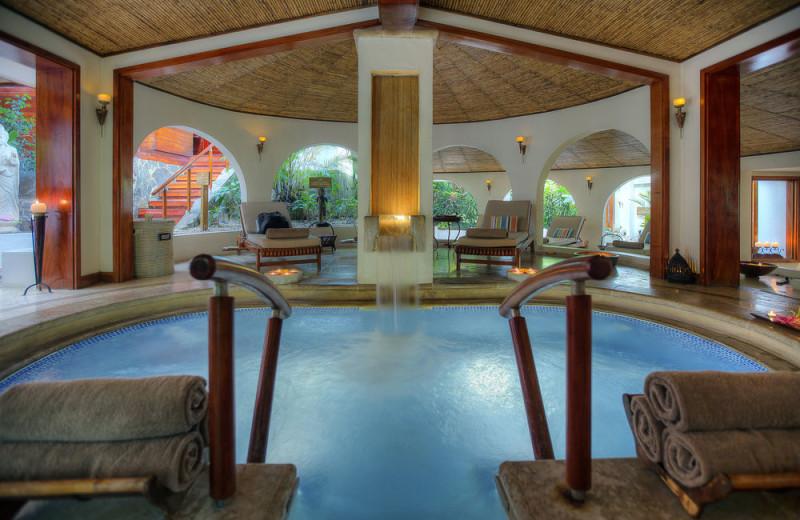 Hot spring at Tabacon Resort.