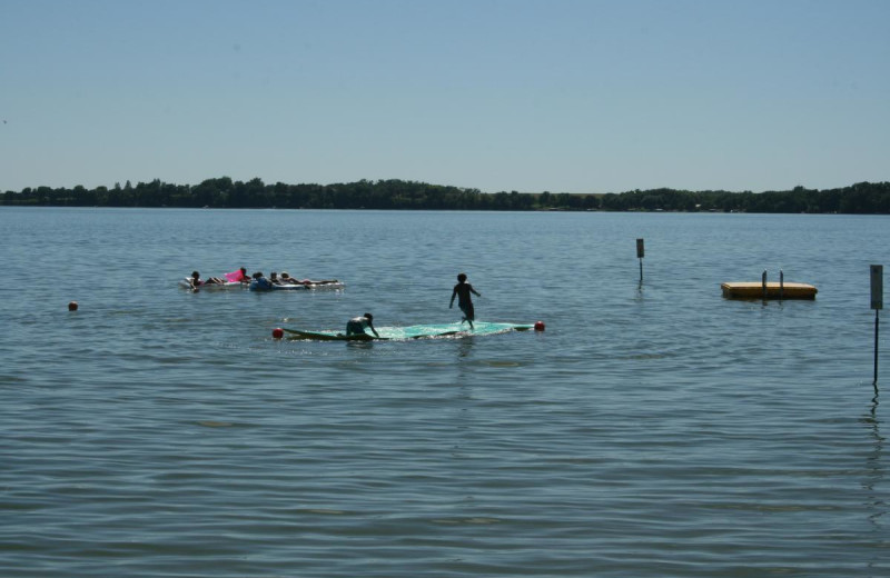Lake view at Ten Mile Lake Resort -Otter Tail Country Lakes Tourism.