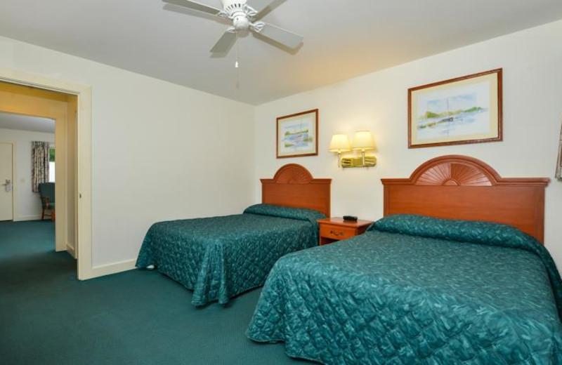 Guest room at Bar Harbor Motel.