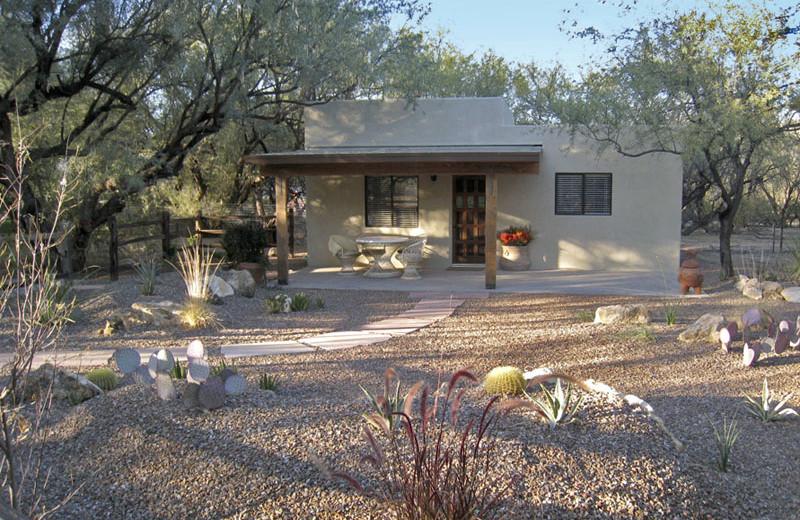 Exterior view of Casitas At Smokey Spring Ranch.