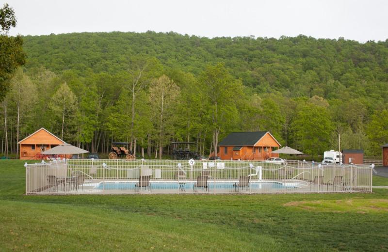 Pool at Creekside Resort.