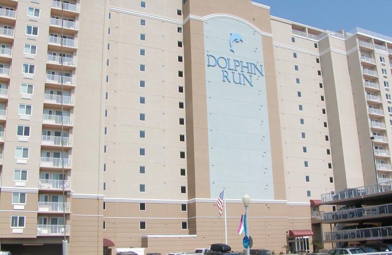 Exterior view of Dolphin Run Condominium Association. Inc.