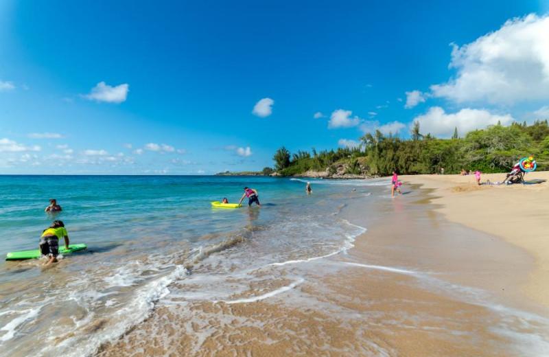 Beach at Vacasa Maui.