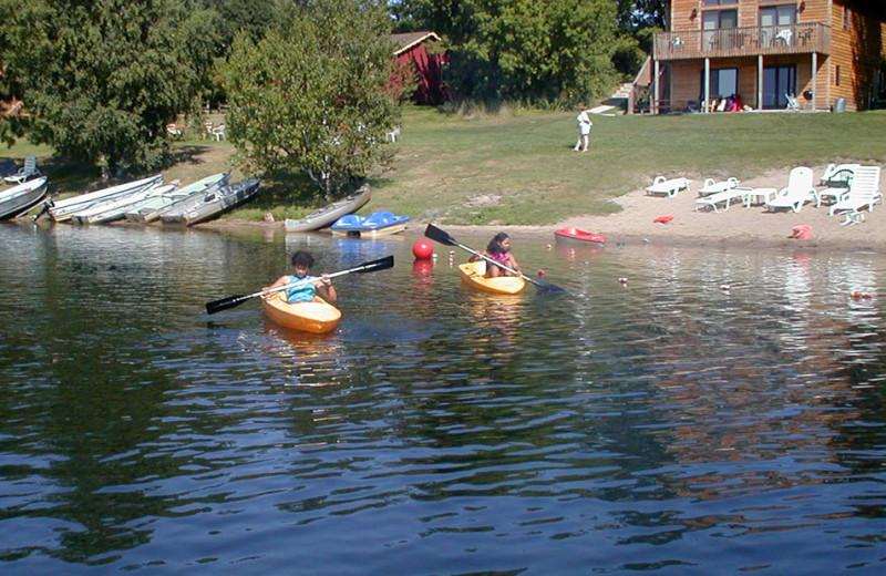 Kayaking at Birch Bay Resort Inn.