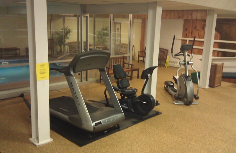 Fitness room at The Seasons Resort.