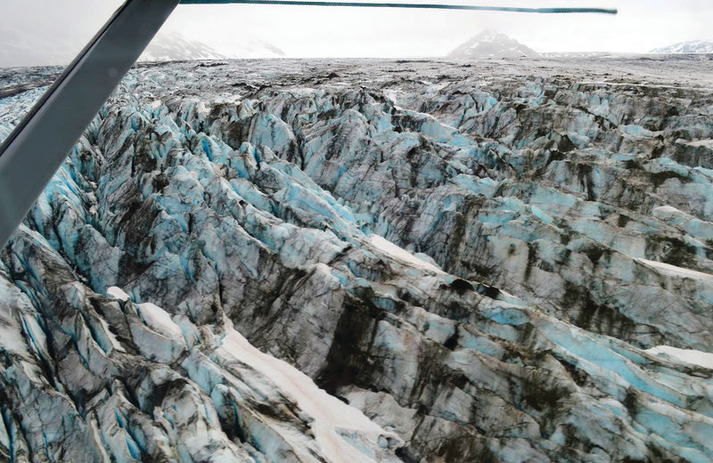 Glaciers at Alaskan Fishing Adventures.
