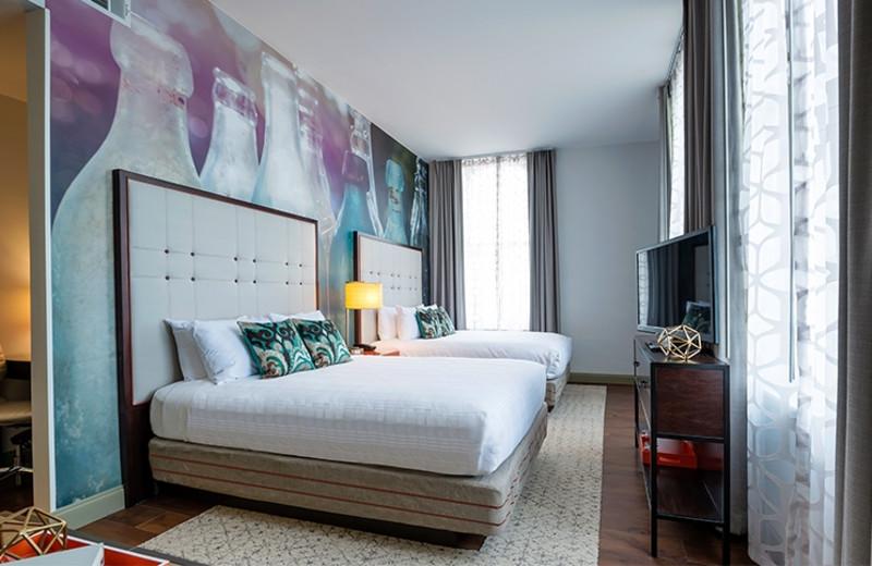 Guest Room at Hotel Indigo Savannah Historic District