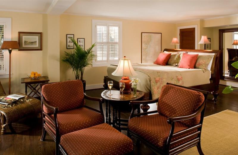 Guest Room at Elizabeth Pointe Lodge