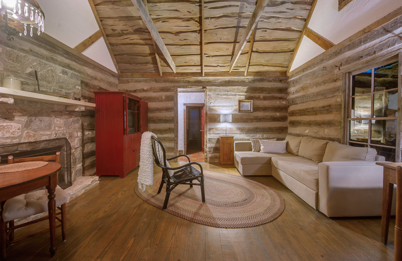 Living room at Bierschwale Estate.