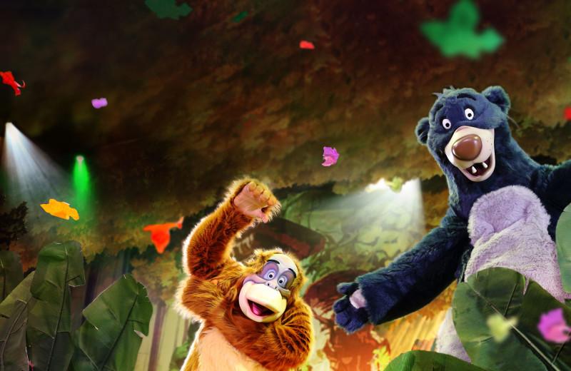 Theater shows at Disneyland Resort Paris.