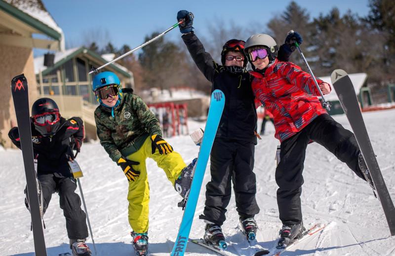 Ski at Timber Ridge Lodge & Waterpark.