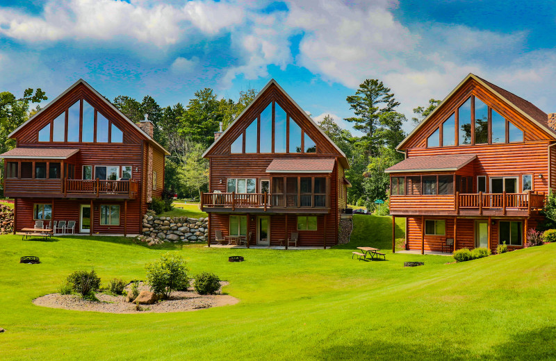 Villa exterior at Wilderness Resort Villas.
