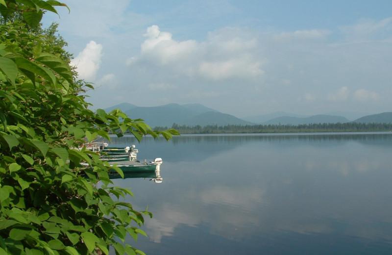 Lake view at Grant's Camps.