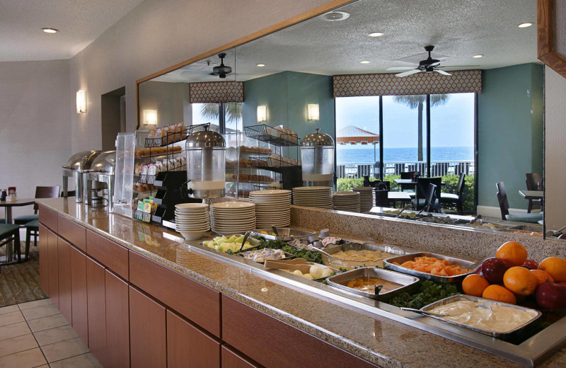 Buffet at The Strand Resort Myrtle Beach.