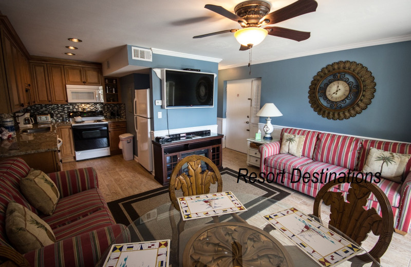 Rental interior at Resort Destinations.