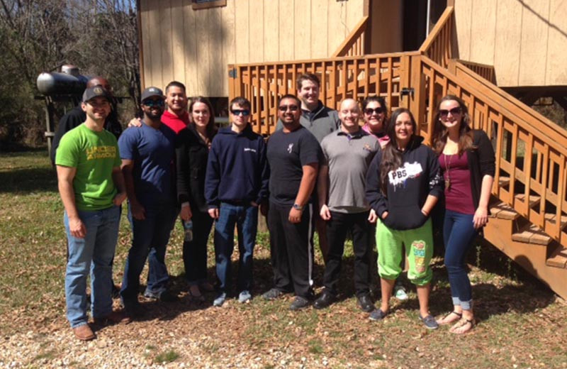 Groups at Berry Creek Cabins.