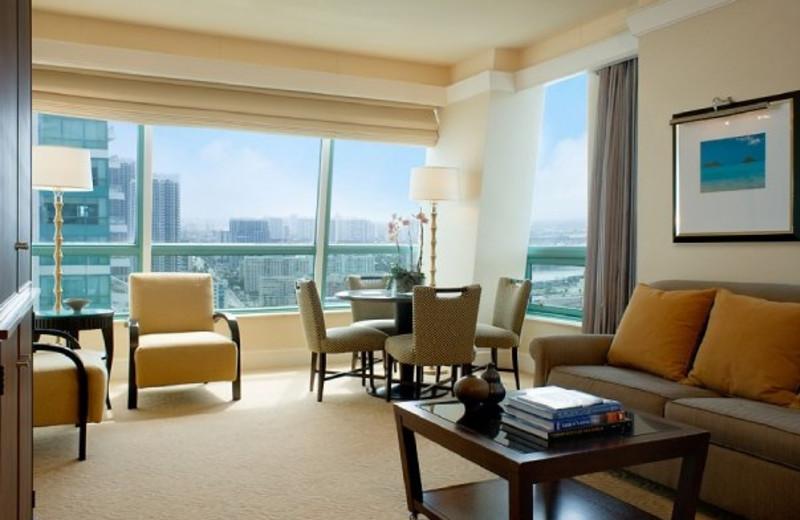 Meeting area at The Westin Diplomat Resort.