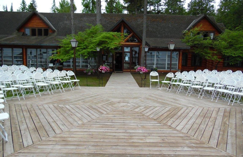 Wedding at UAW Black Lake.