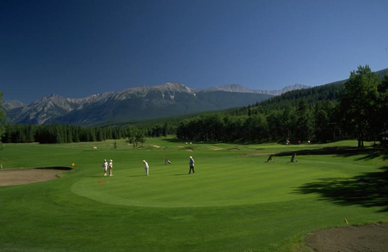 Golf course near Mount Robson Inn.