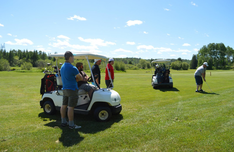 Golf course at Mattawa Golf & Ski Resort.