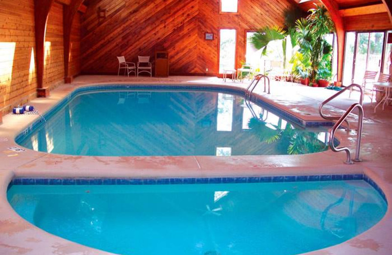 Vacation rental indoor pool at Your Lake Vacation/Al Elam Property Management.
