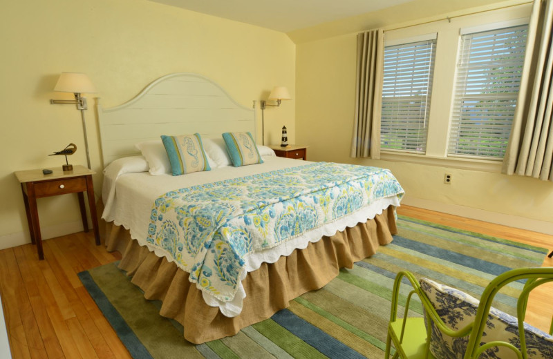 Guest room at Newagen Seaside Inn.