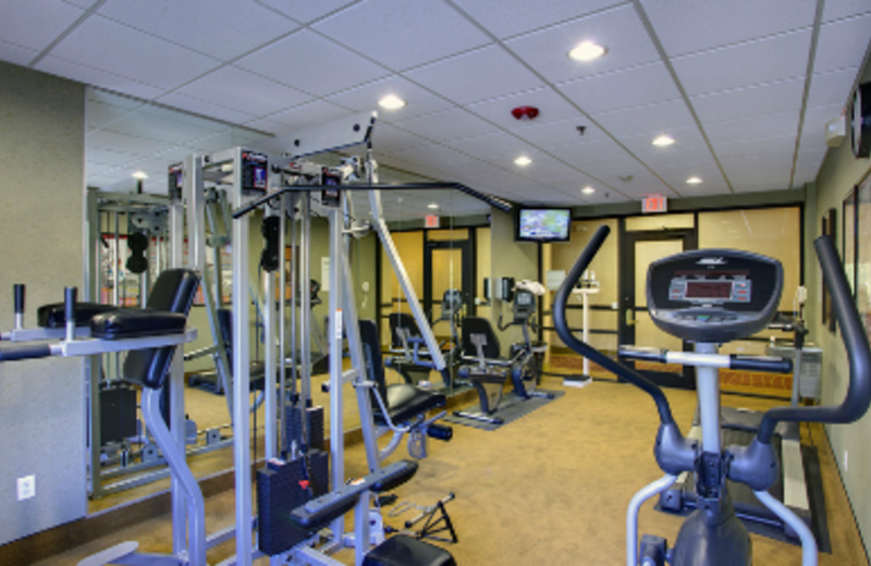 Fitness Room at Holiday Inn Express