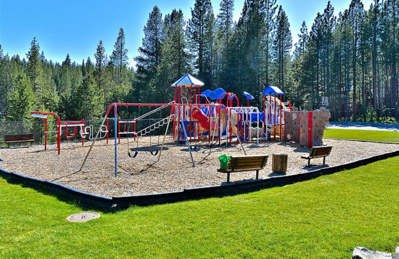 Outdoor Playground Equipment at Tahoe Signature Properties