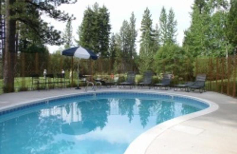 Vacation Rental Pool at Goldfish Properties