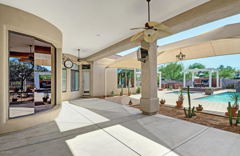 Rental exterior at Arizona Vacation Rentals.