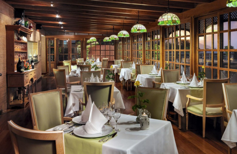 Dining at Hotel Botanico - Tenerife.