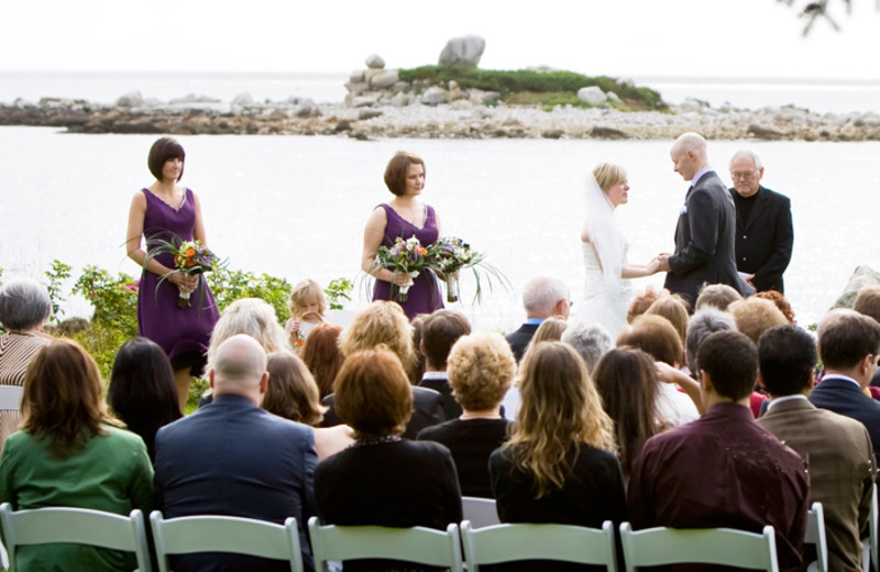 Wedding Ceremony at Oceanstone Seaside Resort