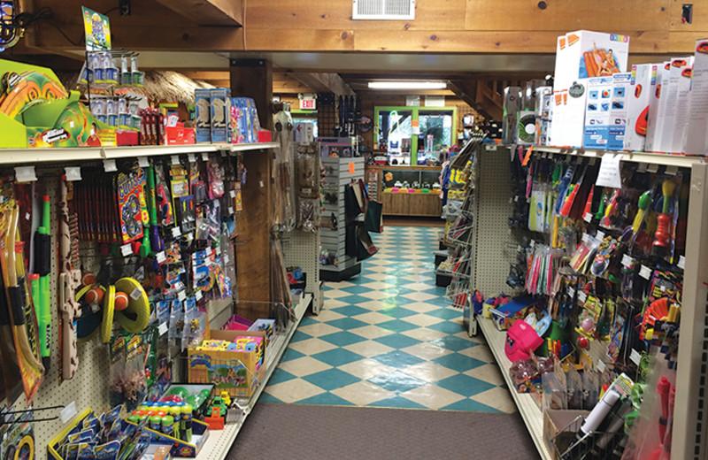 Shop at Yogi Bear's Jellystone Park Gardiner.