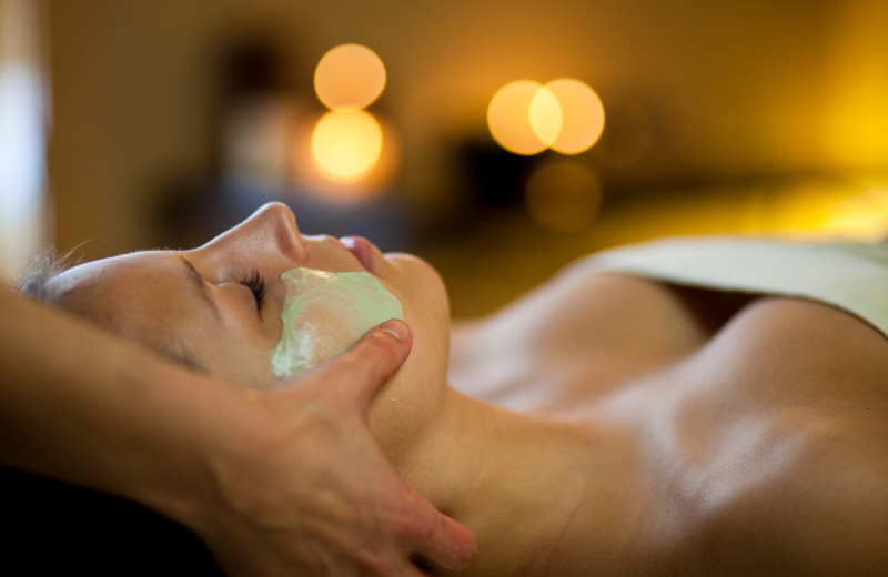 Facials at Bluefin Bay on Lake Superior.