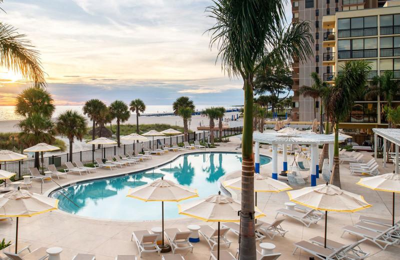 Outdoor pool at Sirata Beach Resort.