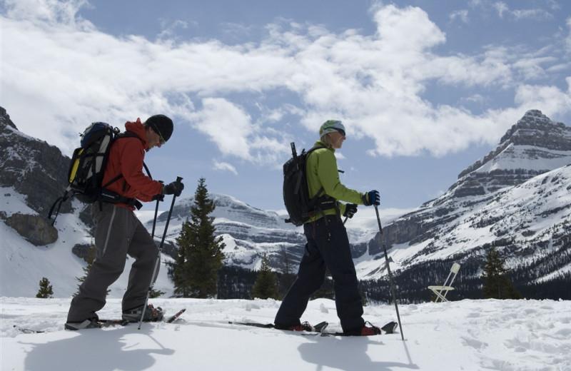 Skiing at Mountaineer Lodge.