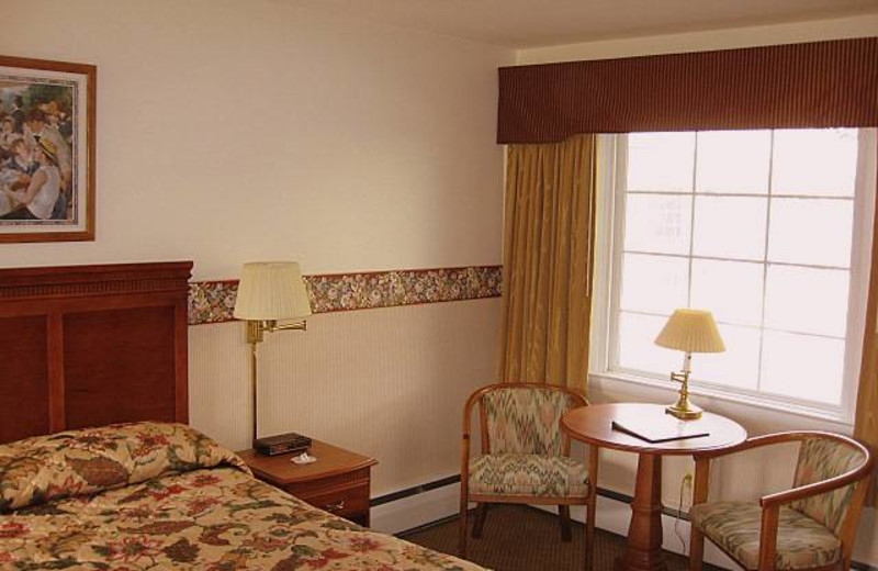 Guest room at Maple Terrace Motel.