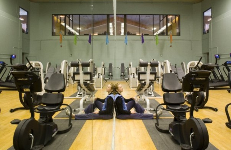 Fitness Room at The Resort at Glade Springs