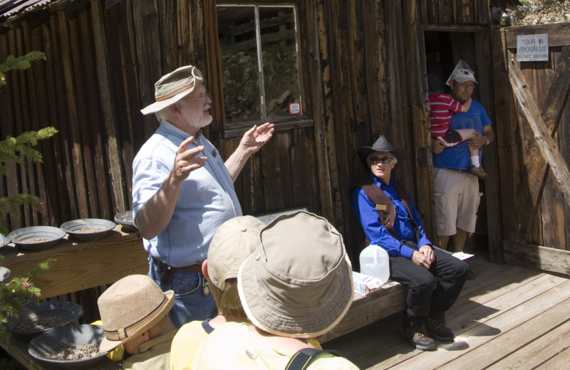 Gold & Silver Mine Tour near Summit Vacations.