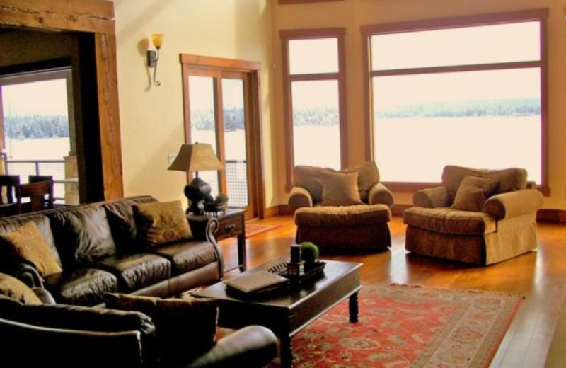 Cabin Rental Interior at Island Park Reservations