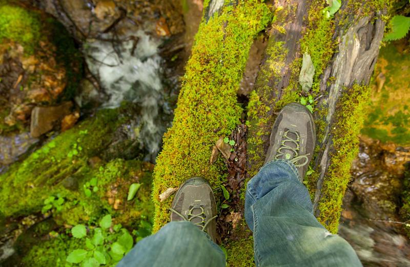 Hiking at The Swag
