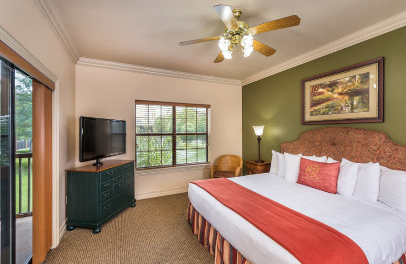 Guest room at Westgate Branson Woods Resort.