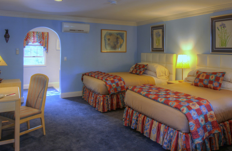 Two bed guest room at Pleasant Bay Village.