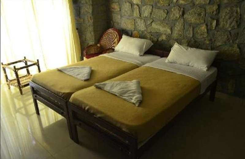 Guest room at Blue Valley Jungle Resorts.