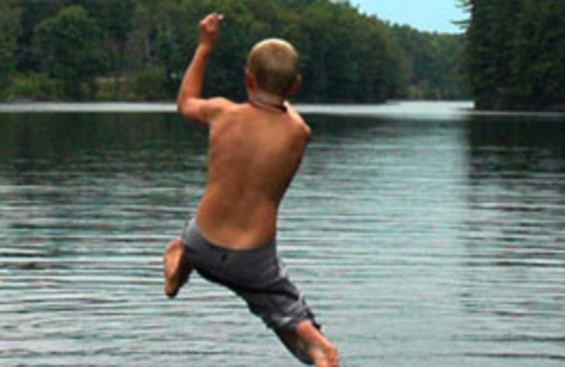 Swimming Activities at Northern Outdoors