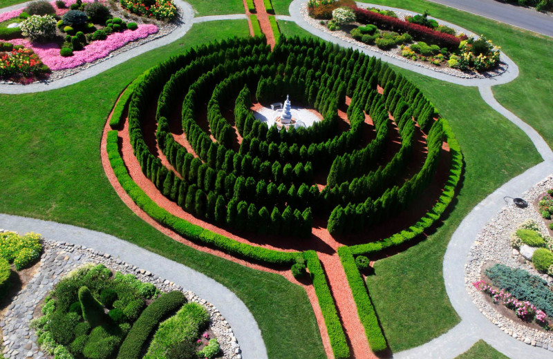 Garden & Labyrinth at Honor's Haven Retreat & Conference.