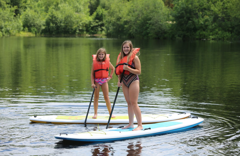Paddle board at Waterville Valley Resort Association.